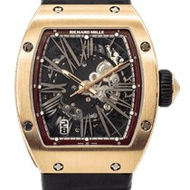 Richard Mille RM023 Růžové zlato 2013 40mm použité
