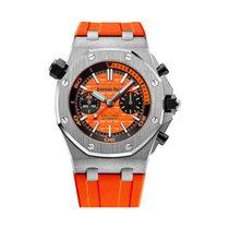 Audemars Piguet Royal Oak Offshore Diver Chronograph Acero 42mm Naranja Sin cifras