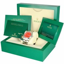 Rolex Oyster Perpetual 36 Steel 36mm Red United States of America, New York, Smithtown