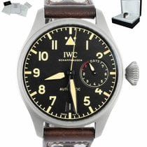 IWC Big Pilot Titanium 46mm Black Arabic numerals United States of America, New York, Smithtown