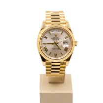 Rolex Day-Date 40 Yellow gold 40mm Silver United Kingdom, Leeds