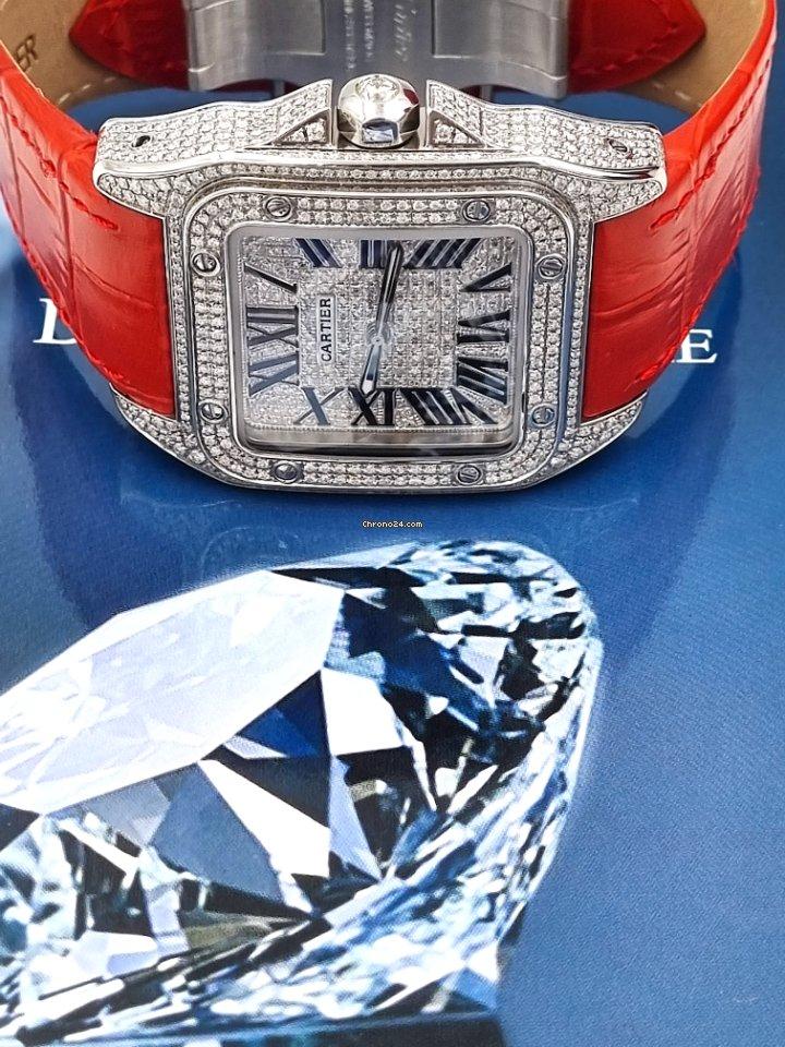 Cartier Santos 100 2656 новые