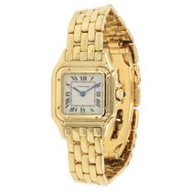 Cartier Panthère Yellow gold 22mm White Roman numerals United States of America, Virginia, Vienna