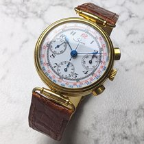 Sinn Yellow gold Manual winding White No numerals 35mm pre-owned