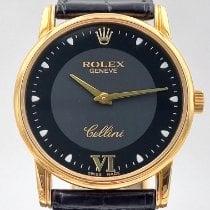 Rolex Cellini Oro giallo 32mm Nero Romani Italia, Ravenna