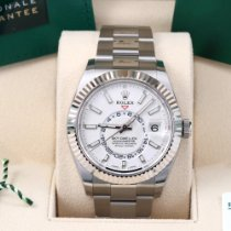 Rolex Sky-Dweller Steel 42mm White No numerals United States of America, California, Los Angeles