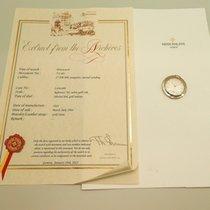 Patek Philippe Uhr gebraucht 1963 Weißgold 40mm Keine Ziffern Handaufzug Uhr mit Original-Papieren