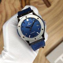 Hublot Classic Fusion Blue новые 2021 Автоподзавод Часы с оригинальными документами и коробкой 511.NX.7170.LR