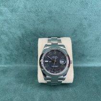 Rolex Datejust II usato 41mm Grigio Data Acciaio
