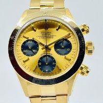 Rolex 6265 Or jaune 1978 Daytona 37mm occasion