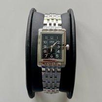 欧瑞斯女士腕表长方形25毫米自动二手腕表原装盒和原装纸