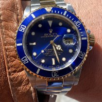 Rolex 16613 Or/Acier 1997 Submariner Date 40mm occasion France, paris