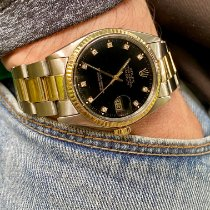 Rolex Datejust Gold/Steel 36mm Black No numerals United States of America, Florida, Pembroke Pines
