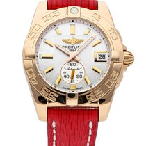 Breitling Rose gold Automatic Mother of pearl No numerals 36mm new Galactic 36