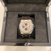 Audemars Piguet Royal Oak Offshore Chronograph pre-owned 42mm White Chronograph Date Silicon