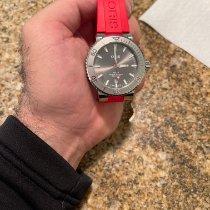 Oris Aquis Date pre-owned 43.5mm Grey Date Rubber