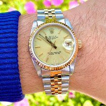 Rolex Lady-Datejust Gold/Steel 31mm Champagne No numerals United States of America, Florida, Pembroke Pines