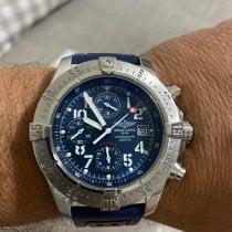Breitling Avenger Skyland pre-owned 45mm Blue Chronograph Date Steel