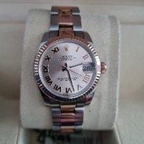 Rolex Lady-Datejust Or/Acier Rose