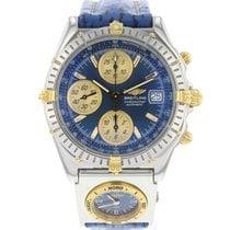Breitling Chronomat Goud/Staal 39mm Blauw Nederland, Maastricht