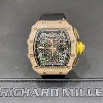 Richard Mille Růžové zlato Automatika Průhledná 49.94mm nové RM 011