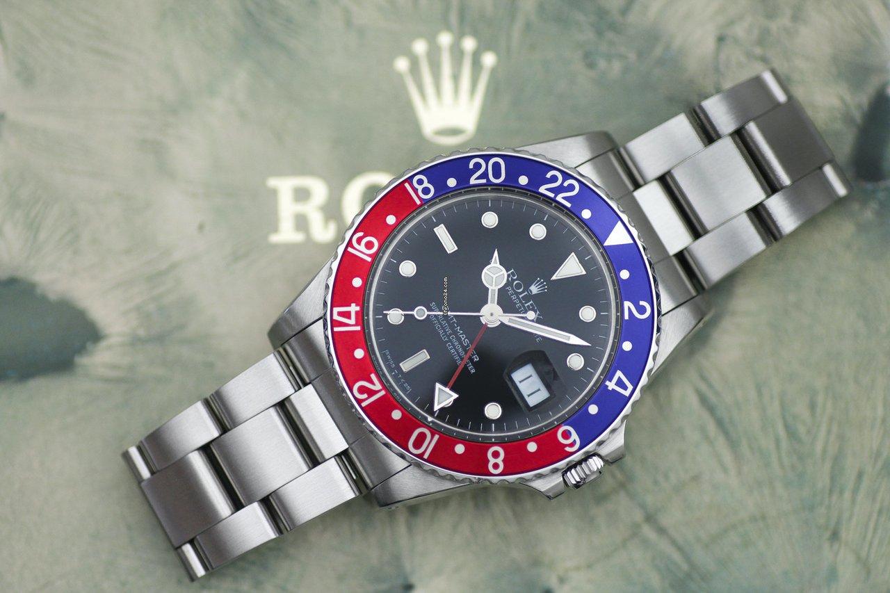 Rolex GMT-Master 16750 1987 gebraucht