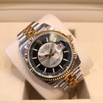 Rolex Datejust Gold/Steel 36mm Silver (solid) Malaysia
