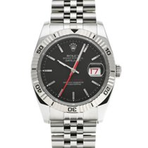 Rolex Datejust Turn-O-Graph Zeljezo 36mm Crn