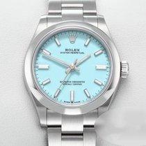 Rolex Oyster Perpetual 31 Aço 31mm Azul