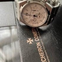Vacheron Constantin Overseas Chronograph Steel 42mm Silver No numerals