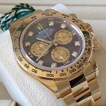 Rolex Daytona Желтое золото 40mm Перламутровый Без цифр