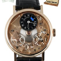 Breguet Tradition pre-owned 37mm Transparent Crocodile skin