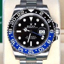 Rolex Stål 40mm Automatisk 116710BLNR begagnad