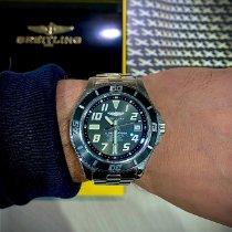 Breitling Superocean 42 occasion 42mm Noir Chronographe Date Acier