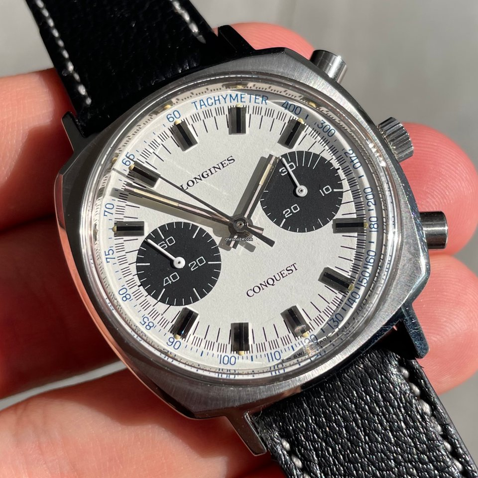 Longines Conquest 1543 1 Vintage 1973 pre-owned