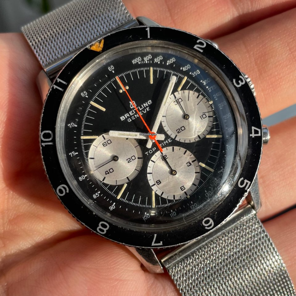 Breitling Top Time 1765 1969 pre-owned