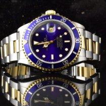 Rolex Submariner Date Gold/Stahl 40mm Violett Keine Ziffern Deutschland, Hamburg