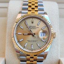 Rolex Datejust nuovo 2021 Automatico Orologio con scatola e documenti originali 126233