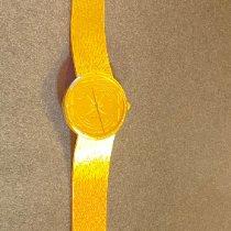 Corum 082.355-56 Gelbgold 1990 Coin Watch 33mm gebraucht