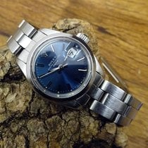 Rolex Oyster Perpetual Lady Date 69160 Very good Steel 26mm Automatic
