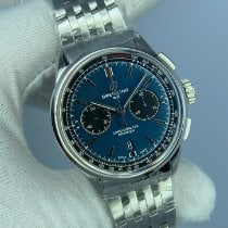 Breitling Steel 42mm Blue No numerals United States of America, Kentucky, Lexington