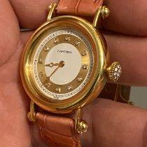 Cartier Diabolo Желтое золото 33mm Белый