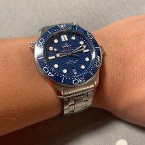 Omega Seamaster Diver 300 M Steel 42mm Blue No numerals Singapore, Singapore