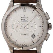 Zenith El Primero Chronograph White gold 44mm Silver Arabic numerals United States of America, Texas, Austin