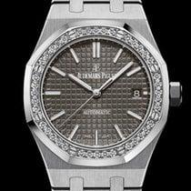 Audemars Piguet Royal Oak Lady Steel 37mm Grey No numerals