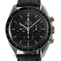 Omega Speedmaster Professional Moonwatch použité 42mm Černá Chronograf Kůže