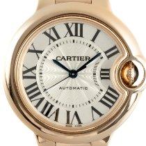 Cartier Ballon Bleu 42mm Желтое золото 33mm Cеребро