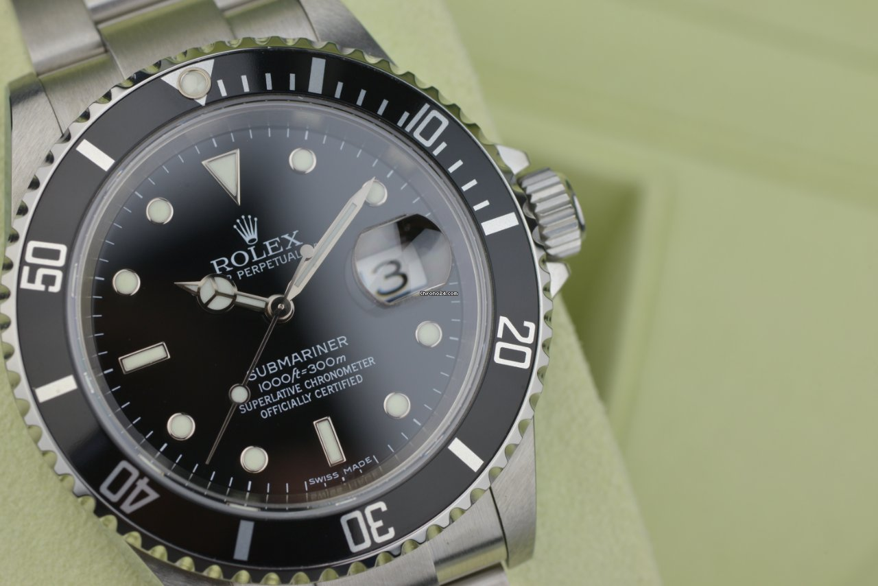 Rolex Submariner Date 16610 2007 tweedehands