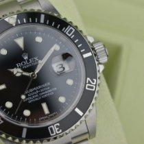 Rolex Submariner Date 16610 Sehr gut Stahl 40mm Automatik