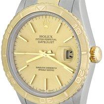 Rolex Datejust Turn-O-Graph Steel 36mm Champagne No numerals